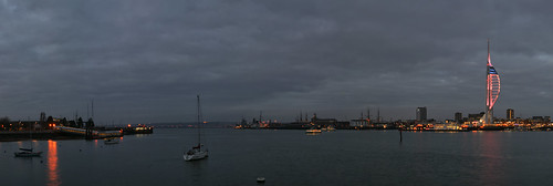 View Of Portsmouth Harbour Towards Portchester