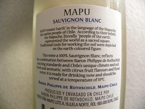 MAPU Sauvignon Blanc 2
