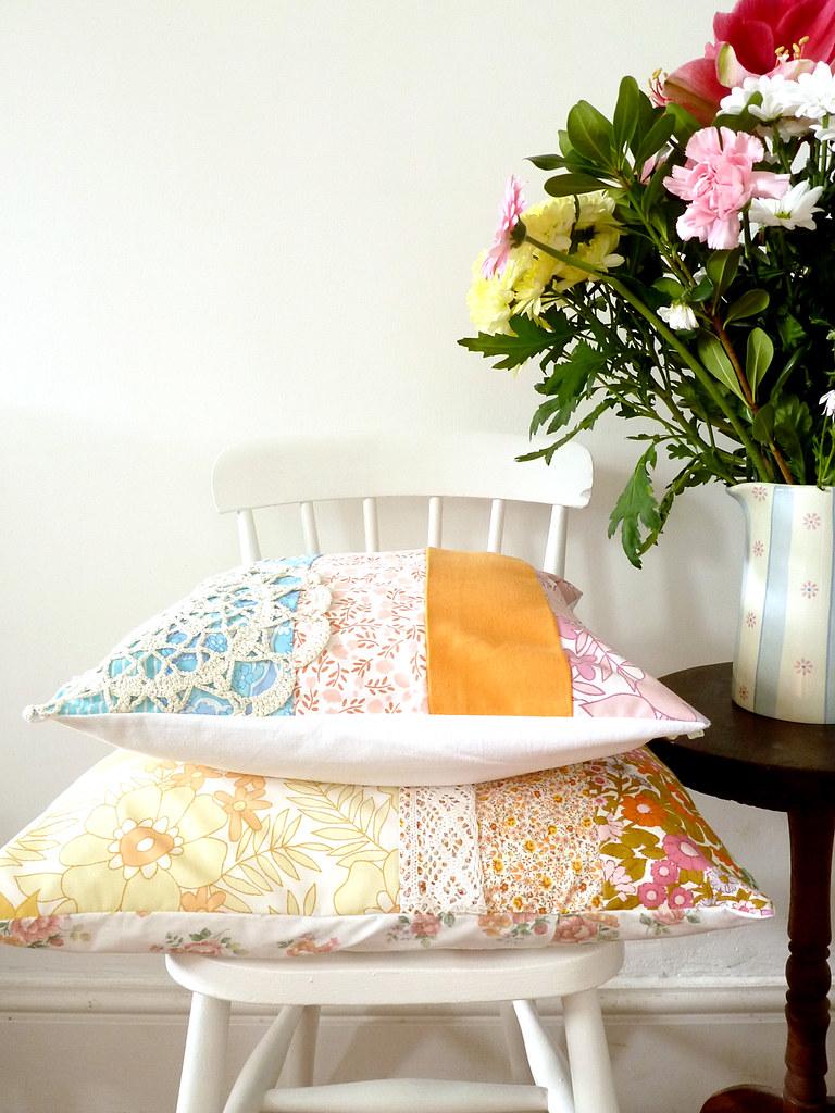 new cushions...