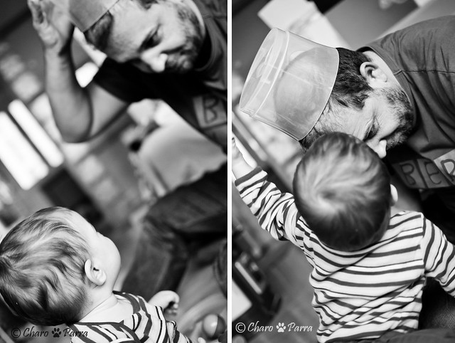 jugando con papa /playing with dad
