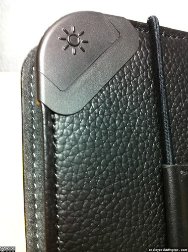 Kindle Leather Cover With Light 06