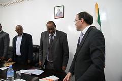 Statssekretær Eide til Somaliland (Utenriksdept) Tags: norway state ministry norwegian secretary foreign espen barth somalia somaliland hargeisa affairs eide