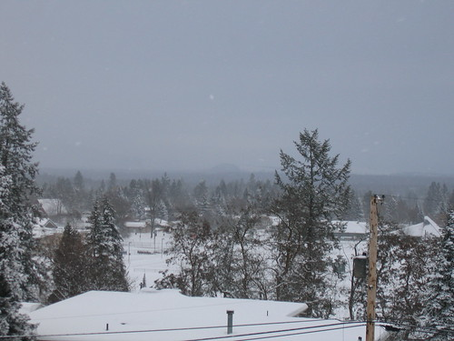 South Hill, Spokane--View from Cheney