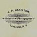 Jessie James Lunn & Willie Lunn, 1890, Reverse