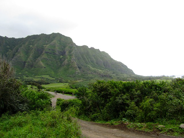 Ka'a'awa Valley, Kualoa Ranch, Kaneohe, Oahu, Hawaii
