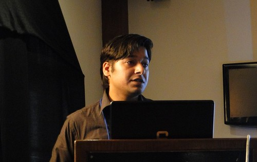Nilesh Sharma talking on Botnet attacks