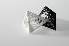 Triangular Study Rings 3 (TheresaBurger) Tags: jewellery rings rhino 3dprinting shapeways