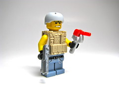 Desert PMC (antha) Tags: modern soldier lego fi figs sci aci faction brickarms