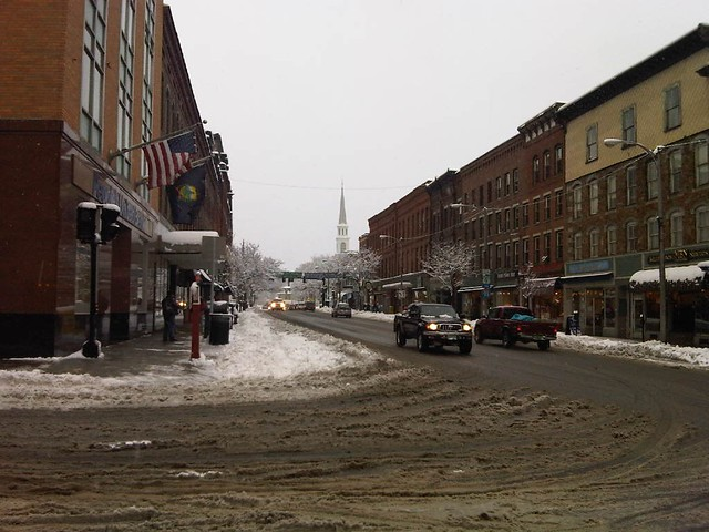 Downtown Brattleboro