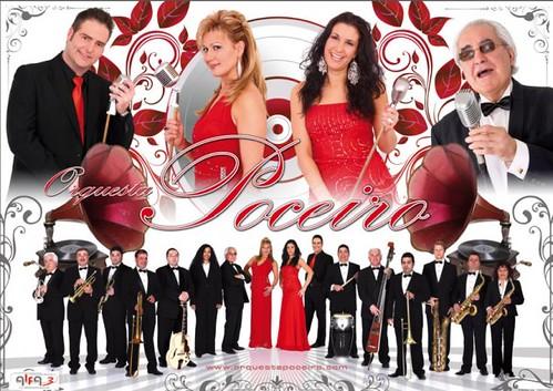 Poceiro 2009 - orquesta - cartel