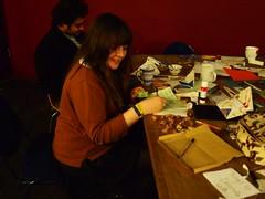 Newcastle craftivists hijacking valentines day (craftivist collective) Tags: valentine change valentines climate collective hijacking craftivism craftivist