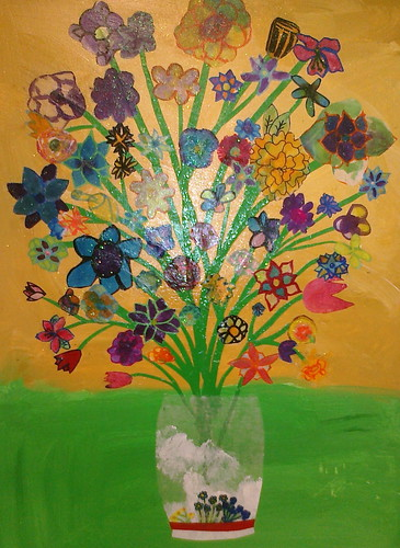 Flower Vase Project, Murch Third Grade