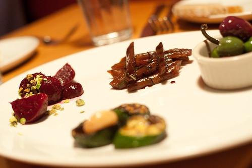 Vegetable Antipasti-Eataly, New York