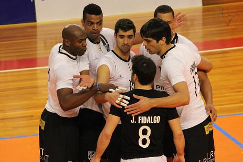 Voleibol: Vitória 3-2 Sp. Espinho