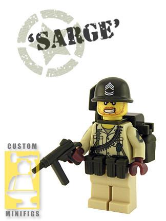 Custom minifig Sarge custom minifig