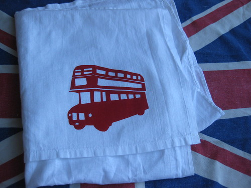tea towels, vintage and new
