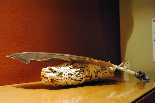 Eagle Feather and Sage Bundle