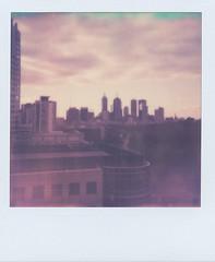 Melbourne on a Polaroid (danielklaas) Tags: analog polaroid australia melbourne victoria analogue polaroidonestep theimpossibleproject danielklaas px70colorshade