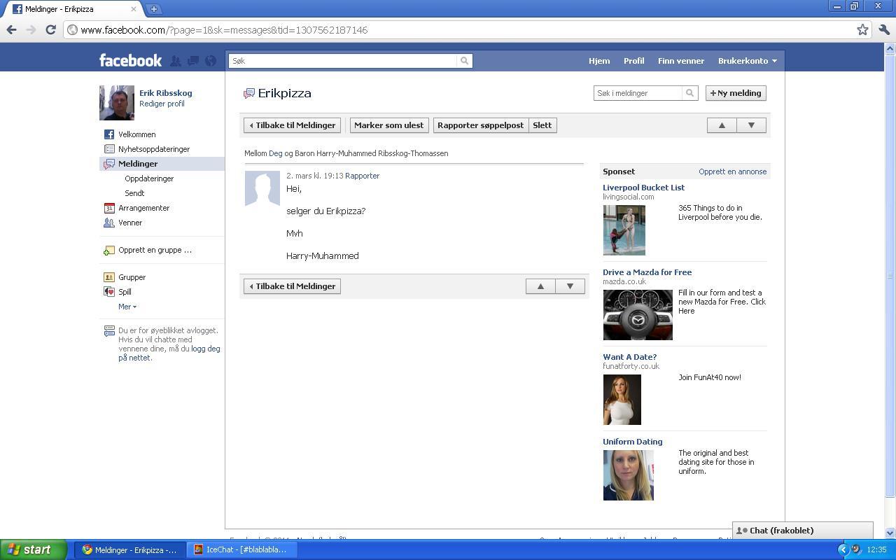 facebook erikpizza