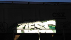 AEST (BLACK VOMIT) Tags: train graffiti ol south dirty richmond mc dos va d30 mayhem freight wh aest aest2