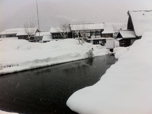 Shirakawa-go in the morning 3