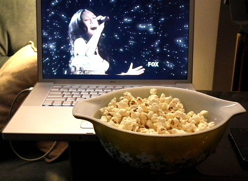 popcorn and American Idol