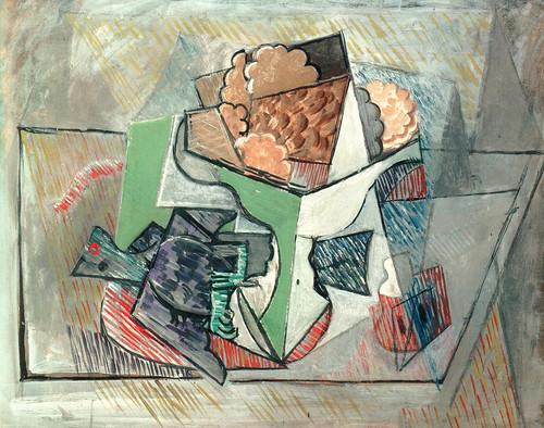 P ] Pablo Picasso - Nature morte à la colombe, oiseau sur une ...