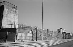 Haupttribune (varjagg) Tags: leica 2 architecture 35mm germany march ruins nazi nuremberg summicron 400 third f2 premium m4 reich nurnberg nrnberg v4 speer 2011 arista tmaxdeveloper preasph zeppelinfield ei500 remaints