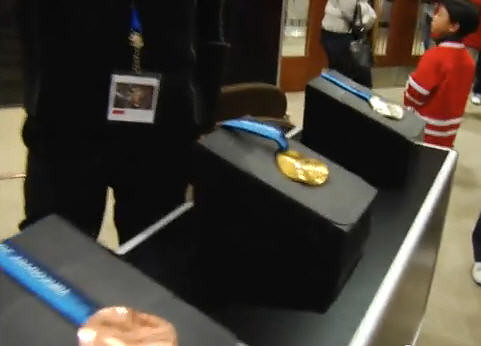 Vancouver 2010 Winter Olympics Medal Display