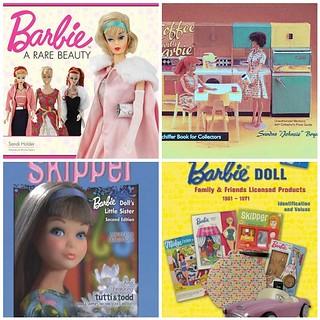4 New Barbie Books