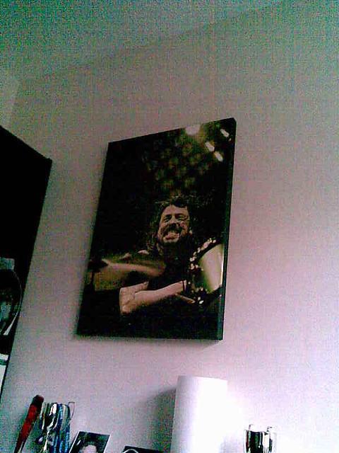 dad's davw ghrol canvas