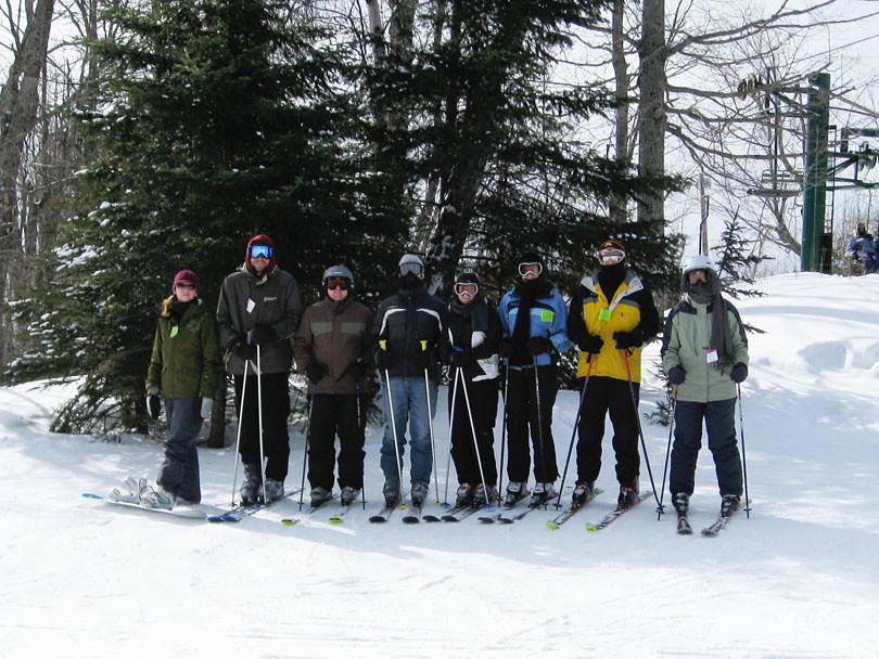 The Skiing/Snowboarding Group