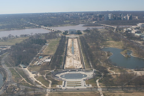 From top of Washington Monument