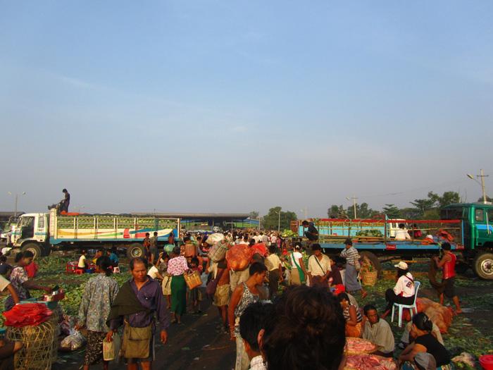 Thiri Mangalar Market Myanmar
