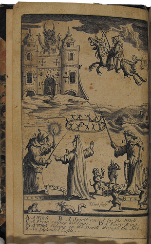 Frontispiece of Pandaemonium, or the devil's cloyster