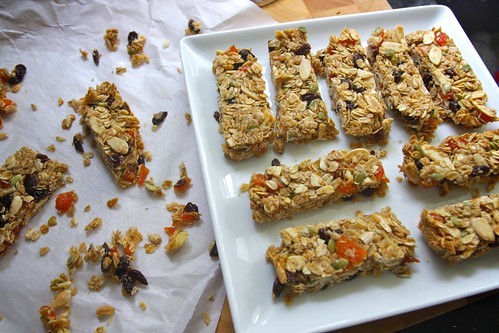 fully loaded granola bars