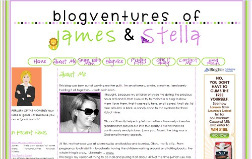 BlogVentures of James and Stella