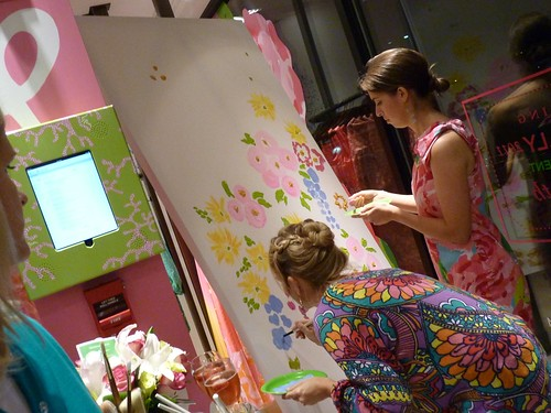 Lilly Pulitzer Grand Opening in Ardmore