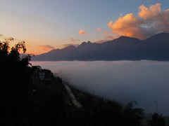 Sunrise-Above the Clouds-Sapa-Vietnam by mikemellinger