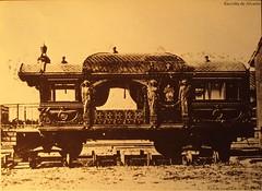 1860 ca 2010 Il vagone ferroviario privato di Pio IX (Alvaro ed Elisabetta de Alvariis) Tags: mestieri romascomparsa rioni non rintracciabiliromaromeitaly1860foto gabinetto fotografico nazionale