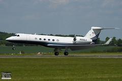N222LX - 633 - Lexair - Gulfstream V - Luton - 100524 - Steven Gray - IMG_2557