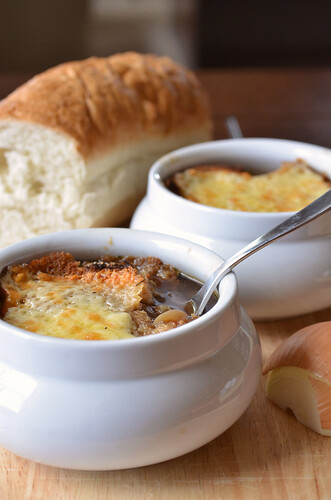 Guinness and Onion Soup