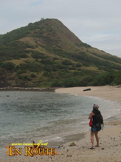 The Beach jumpoff to Cape Engano