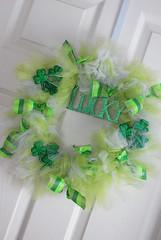 Pinch O' Green Wreath