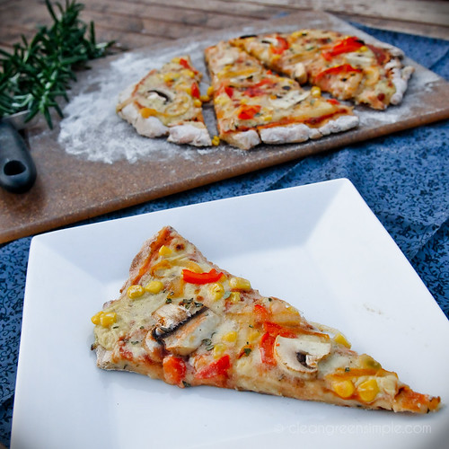 Easy gluten free vegan pizza recipe