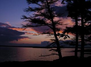 Maine Coast Sunset