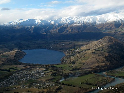 Queenstown Landscapes from Helicopter, New Zealand