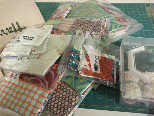 mystery quilt fabric packs