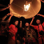 Yi Peng Floating Lantern Ceremony