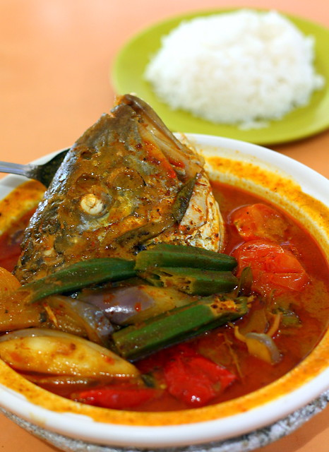 Old Airport Road Curry Fish Head 068